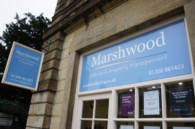 Marshwood Lettings office in Beaminster